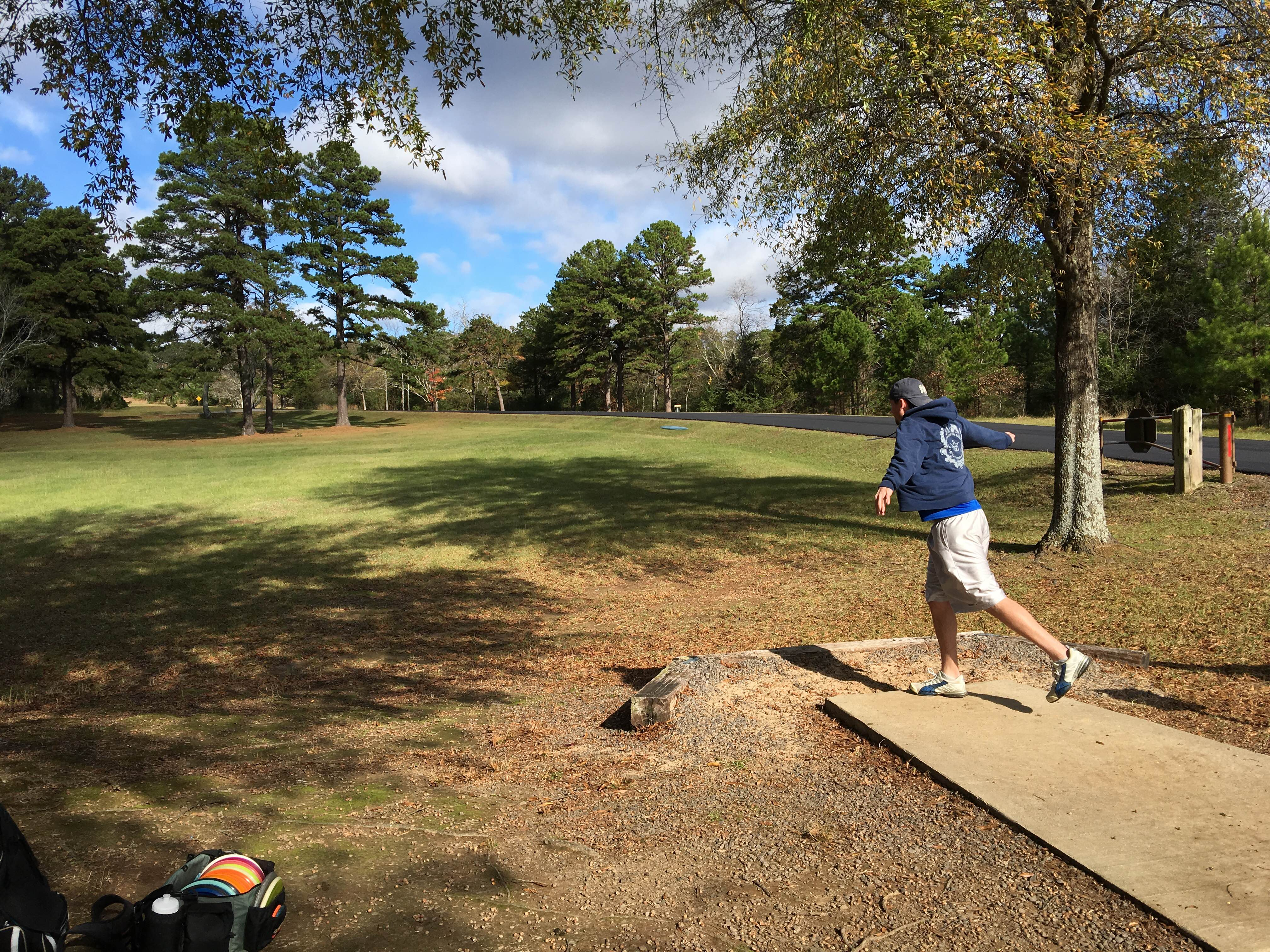 Tags & Match Play in the Wind at Old Post Park