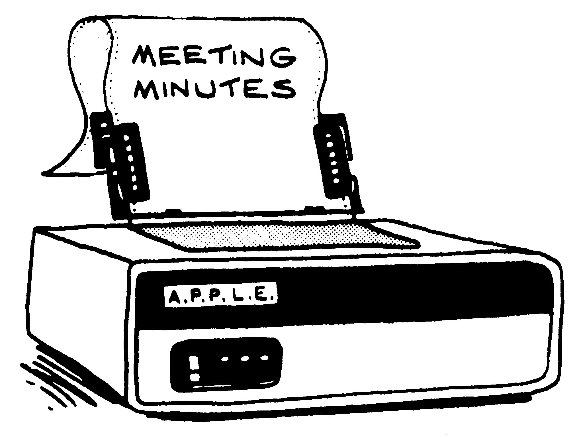 Minutes Archive